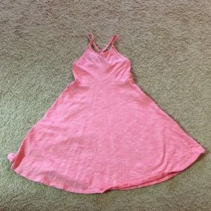 Old navy coral girls dress size 6/7